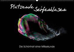 Platzende Seifenblasen – Die Schönheit einer Millisekunde (Wandkalender 2019 DIN A2 quer) von rclassen