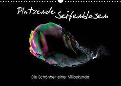 Platzende Seifenblasen – Die Schönheit einer Millisekunde (Wandkalender 2019 DIN A3 quer) von rclassen