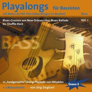 Playalongs für Bassisten Vol. 1