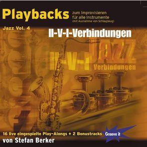 Playbacks zum Improvisieren Jazz Vol. 4