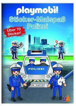 Playmobil. Mein Sticker-Malbuch Polizei