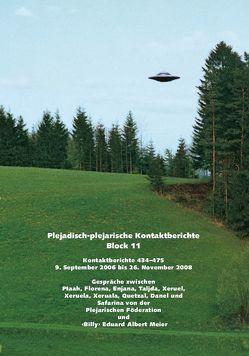 Plejadisch-plejarische Kontaktberichte – Block 11 von Meier,  Eduard Albert