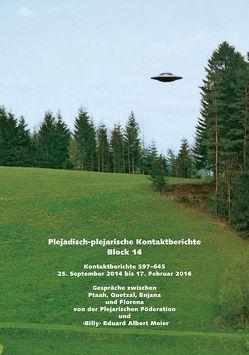 """Plejadisch-plejarische Kontaktberichte Block 14 von Meier,  """"Billy"""" Eduard Albert"""