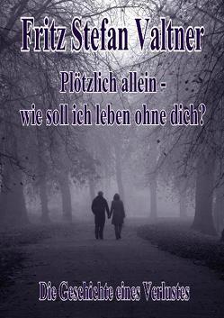 Plötzlich allein – Wie soll ich leben ohne dich? – Die Geschichte eines Verlustes von DeBehr,  Verlag, Valtner,  Fritz Stefan
