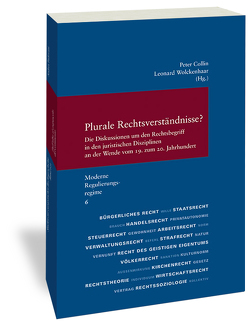Plurale Rechtsverständnisse? von Collin,  Peter, Wolckenhaar,  Leonard