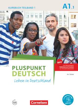 Pluspunkt Deutsch – Leben in Deutschland – Allgemeine Ausgabe / A1: Teilband 1 – Kursbuch mit Video-DVD von Jin,  Friederike, Schote,  Joachim