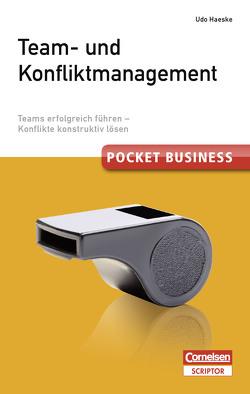 Pocket Business. Team- und Konfliktmanagement von Haeske,  Udo