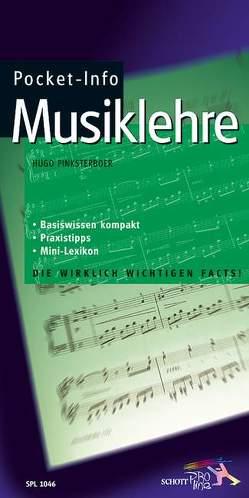 Pocket-Info Musiklehre von Pinksterboer,  Hugo