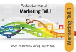 Pocket-Lernkartei Grundlagen Marketing Teil 1. Marketinggrundlagen, Marketingforschung, Marketingplanung, Marketingorganisation von Pütz,  Peter
