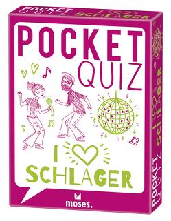 Pocket Quiz Schlager von Hamann,  Bastienne