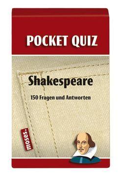 Pocket Quiz Shakespeare von Poppe,  Birgit