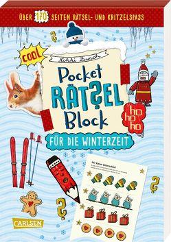 Pocket-Rätsel-Block: für die Winterzeit von Busch,  Nikki, Hahn,  Christiane