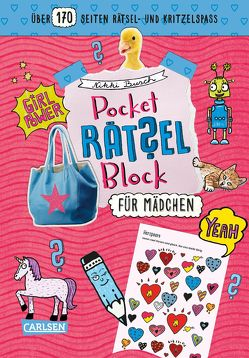 Pocket-Rätsel-Block: Für Mädchen von Busch,  Nikki, Hahn,  Christiane