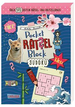 Pocket-Rätsel-Block: Sudoku von Busch,  Nikki, Hahn,  Christiane