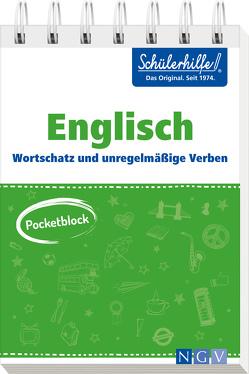 Pocketblock Englisch – Wortschatz und unregelmäßige Verben