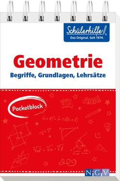 Pocketblock Geometrie – Begriffe, Grundlagen, Lehrsätze