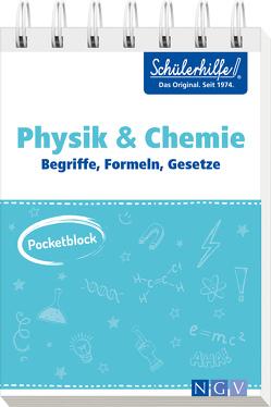 Pocketblock Physik + Chemie – Begriffe, Formeln, Gesetze