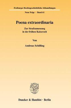 Poena extraordinaria. von Schilling,  Andreas