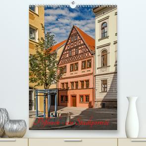Pößneck – ein Stadtporträt (Premium, hochwertiger DIN A2 Wandkalender 2021, Kunstdruck in Hochglanz) von M.Dietsch