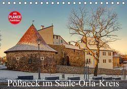 Pößneck im Saale-Orla-Kreis (Tischkalender 2019 DIN A5 quer) von M.Dietsch