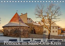Pößneck im Saale-Orla-Kreis (Tischkalender 2020 DIN A5 quer) von M.Dietsch
