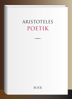 Poetik von Aristoteles,  von Stageira, Gomperz,  Theodor
