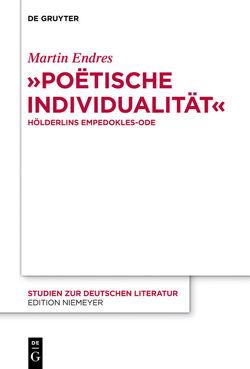 """""""Poëtische Individualität"""" von Endreß,  Martin"""