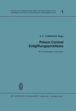 Poison Control Entgiftungsprobleme von Tombergs,  H.P.