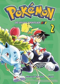 Pokémon – Die ersten Abenteuer von Kusaka,  Hidenori, Mato