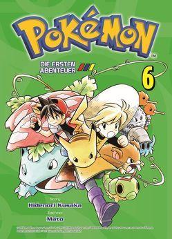 Pokémon – Die ersten Abenteuer von Aaiwa,  Gyo, Kusaka,  Hidenori, Mato