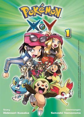 Pokémon X und Y von Kusaka,  Hidenori, Yamamoto,  Satoshi