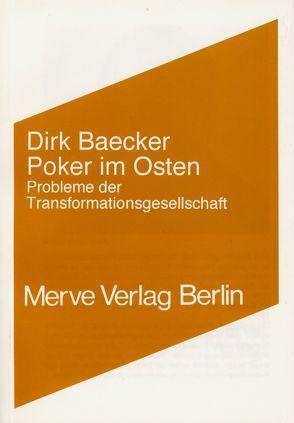 Poker im Osten von Baecker,  Dirk