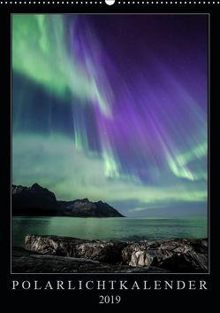 Polarlichtkalender (Wandkalender 2019 DIN A2 hoch) von Worm,  Sebastian