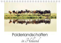 Polderlandschaften in Holland (Tischkalender 2019 DIN A5 quer) von van der Wiel,  Annemieke