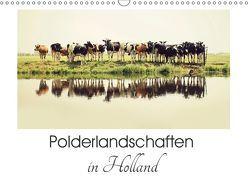 Polderlandschaften in Holland (Wandkalender 2019 DIN A3 quer) von van der Wiel,  Annemieke