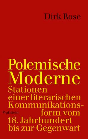 Polemische Moderne von Röse,  Dirk