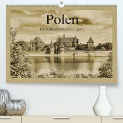 Polen – Ein Kalender im Zeitungsstil (Premium, hochwertiger DIN A2 Wandkalender 2020, Kunstdruck in Hochglanz) von Kirsch,  Gunter