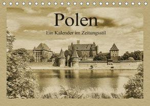 Polen – Ein Kalender im Zeitungsstil (Tischkalender 2018 DIN A5 quer) von Kirsch,  Gunter