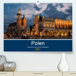 Polen – Reise durch unser schönes Nachbarland (Premium, hochwertiger DIN A2 Wandkalender 2021, Kunstdruck in Hochglanz) von Nowak,  Oliver