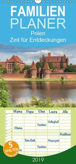 Polen – Zeit für Entdeckungen – Familienplaner hoch (Wandkalender 2019 , 21 cm x 45 cm, hoch) von Kirsch,  Gunter