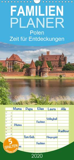 Polen – Zeit für Entdeckungen – Familienplaner hoch (Wandkalender 2020 , 21 cm x 45 cm, hoch) von Kirsch,  Gunter