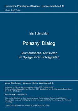 Poleznyi Dialog von Schneider,  Iris