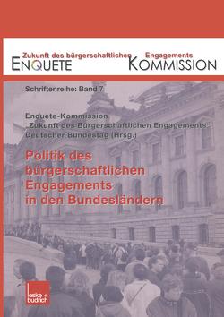 Politik des bürgerschaftlichen Engagements in den Bundesländern von Kommission,  Enquete
