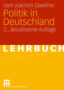 Politik in Deutschland von Glaessner,  Gert-Joachim