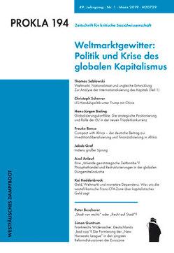 Politik und Krise des globalen Kapitalismus von PROKLA