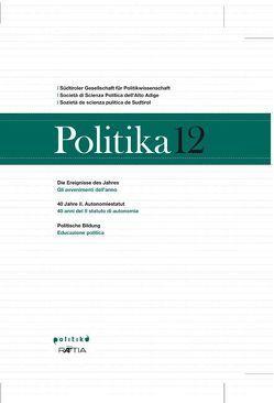 Politika 12 von Pallaver,  Günther