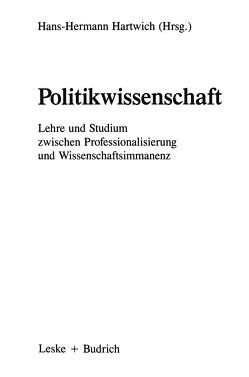 Politikwissenschaft von Hartwich,  Hans-Herman