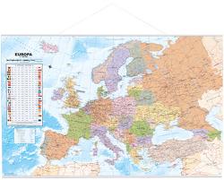 Politische Europakarte als Poster, 90 x60cm, deutsch