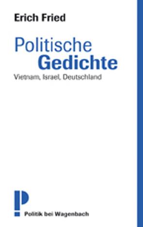 Politische Gedichte von Buchwald,  Christoph, Fried,  Erich