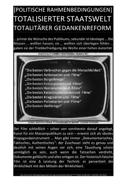 [POLITISCHE RAHMENBEDINGUNGEN] TOTALISIERTER STAATSWELT TOTALITÄRER GEDANKENREFORM von CONSTITUTION,  SOUL, Faust,  C. M.